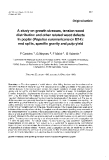 "Báo cáo khoa học: ""A study on growth stresses, tension wood distribution and other related wood defects in poplar (Populus euramericana cv 1214): end splits, specific gravity and pulp yield"""