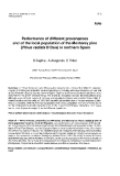 "Báo cáo khoa học: ""Performance of different provenances and of the local population of the Monterey pine (Pinus radiata D Don) in northern Spain"""