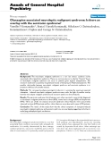 """Báo cáo y học: """"Olanzapine-associated neuroleptic malignant syndrome: Is there an overlap with the serotonin syndrome"""""""