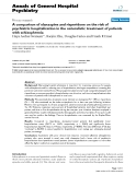 "Báo cáo y học: "" A comparison of olanzapine and risperidone on the risk of psychiatric hospitalization in the naturalistic treatment of patients with schizophrenia"""