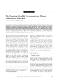 "Báo cáo y học: ""The Changing Microbial Environment and Chronic Inflammatory Disorders"""