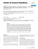 """Báo cáo y học: """"Pregnancy-induced obsessive compulsive disorder: a case report"""""""