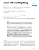 """Báo cáo y học: """"Alexithymia and anxiety in female chronic pain patients"""""""