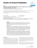 "Báo cáo y học: ""elf-harm in British South Asian women: psychosocial correlates and strategies for prevention"""