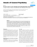 "Báo cáo y học: ""A short review on the aetiology and pathophysiology of alcoholism"""