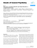 """Báo cáo y học: """"Obsessive-compulsive disorder and related disorders: a comprehensive survey"""""""