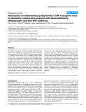 "Báo cáo y học: ""Attenuation of inflammatory polyarthritis in TNF transgenic mice by diacerein: comparative analysis with dexamethasone, methotrexate and anti-TNF protocols"""
