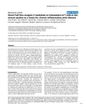 "Báo cáo y học: ""Direct Toll-like receptor 2 mediated co-stimulation of T cells in the mouse system as a basis for chronic inflammatory joint disease"""