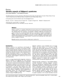 "Báo cáo y học: ""Genetic aspects of Sjögren's syndrome"""