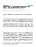 "Báo cáo y học: ""Autoantibodies to low-density-lipoprotein-receptor-related protein 2 (LRP2) in systemic autoimmune diseases"""