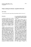 """Báo cáo khoa học: """"Factors  affecting the direction of growth of tree  roots"""""""