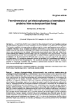 """Báo cáo khoa học: """"Two-dimensional gel electrophoresis of membrane  proteins from ectomycorrhizal fungi"""""""