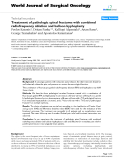 """Báo cáo khoa học: """"Treatment of pathologic spinal fractures with combined radiofrequency ablation and balloon kyphoplasty"""""""