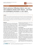"Báo cáo khoa học: ""Renal carcinoma infiltrating inferior vena cava and combined valvular heart disease - one-stage uro-cardiological procedure: a case report"""