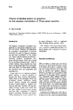 """Báo cáo khoa học: """"Effects of decline and/or air pollution on the terpene metabolism of Picea abies needles"""""""
