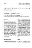 """Báo cáo lâm nghiệp: """"Ultrasound acoustic emission in water-stressed Picea abies Karst"""""""