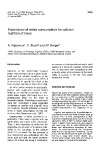 """Báo cáo lâm nghiệp: """"Importance of water consumption for calcium utrition of tre"""""""