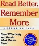 READ BETTER, REMEMBER MORE