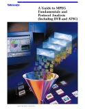 A Guide to MPEG Fundamentals and Protocol Analysis