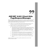 ASP.NET AJAX Programmer's Reference - Chapter 22