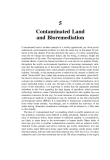 Environmental Biotechnology - Chapter 5