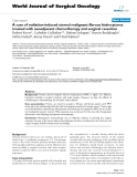 """Báo cáo khoa học: """"A case of radiation-induced sternal malignant fibrous histiocytoma treated with neoadjuvant chemotherapy and surgical resection"""""""