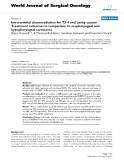 """Báo cáo khoa học: """"Intra-arterial chemoradiation for T3-4 oral cavity cancer: Treatment outcomes in comparison to oropharyngeal and hypopharyngeal carcinoma"""""""