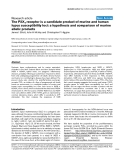 "Báo cáo y học: ""The P2X7 receptor is a candidate product of murine and human lupus susceptibility loci: a hypothesis and comparison of murine allelic products"""