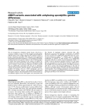 "Báo cáo y học: ""ANKH variants associated with ankylosing spondylitis: gender difference"""