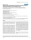 "Báo cáo y học: ""Systemic lupus erythematosus induced by anti-tumour necrosis factor alpha therapy: a French national survey"""