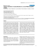 "Báo cáo y học: "" Clinical evaluation of autoantibodies to a novel PM/Scl peptide antigen"""