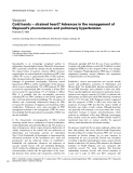 """Báo cáo y học: """"Cold hands — strained heart? Advances in the management of Raynaud's phenomenon and pulmonary hypertension"""""""