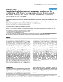 "Báo cáo y học: ""Hypothalamic-pituitary-adrenal stress axis function and the relationship with chronic widespread pain and its antecedent"""