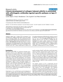"Báo cáo y học: ""Chronic development of collagen-induced arthritis is associated with arthritogenic antibodies against specific epitopes on type II collagen"""