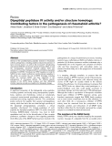 "Báo cáo y học: ""Dipeptidyl peptidase IV activity and/or structure homologs: Contributing factors in the pathogenesis of rheumatoid arthritis"""