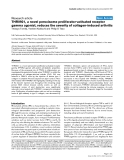 """Báo cáo y học: """"THR0921, a novel peroxisome proliferator-activated receptor gamma agonist, reduces the severity of collagen-induced arthritis"""""""