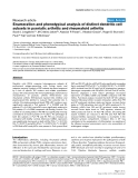 "Báo cáo y học: ""Enumeration and phenotypical analysis of distinct dendritic cell subsets in psoriatic arthritis and rheumatoid arthritis"""