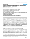 """Báo cáo y học: """"Vitamin D receptor gene polymorphisms and susceptibility of hand osteoarthritis in Finnish wome"""""""