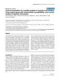 """Báo cáo y học: """"Lack of association of a variable number of aspartic acid residues in the asporin gene with osteoarthritis susceptibility: case-control studies in Spanish Caucasians"""""""