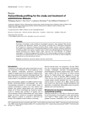 "Báo cáo y học: ""Autoantibody profiling for the study and treatment of autoimmune disease"""