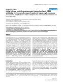 "Báo cáo y học: ""Initial clinical trial of epratuzumab (humanized anti-CD22 antibody) for immunotherapy of systemic lupus erythematosu"""