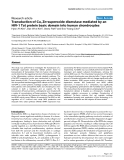 """Báo cáo y học: """"Transduction of Cu, Zn-superoxide dismutase mediated by an HIV-1 Tat protein basic domain into human chondrocytes"""""""