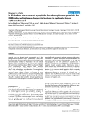 Báo cáo y học: Is disturbed clearance of apoptotic keratinocytes responsible for UVB-induced inflammatory skin lesions in systemic lupus erythematosus