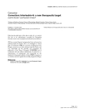 """Báo cáo y học: """"Correction: Interleukin-6: a new therapeutic target"""""""