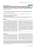 "Báo cáo y học: ""Interactions between IL-32 and tumor necrosis factor alpha contribute to the exacerbation of immune-inflammatory diseases"""
