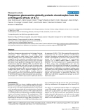 """Báo cáo y học: """"Exogenous glucosamine globally protects chondrocytes from the arthritogenic effects of IL-1β"""""""