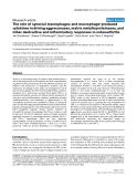 "Báo cáo y học: ""The role of synovial macrophages and macrophage-produced cytokines in driving aggrecanases, matrix metalloproteinases, and other destructive and inflammatory responses in osteoarthritis"""