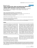 """Báo cáo y học: """"Tumor necrosis factor alpha and adalimumab differentially regulate CD36 expression in human monocytes"""""""