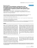 "Báo cáo y học: ""Association of the diplotype configuration at the N-acetyltransferase 2 gene with adverse events with co-trimoxazole in Japanese patients with systemic lupus erythematosus"""
