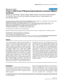 """Báo cáo y học: """"CTLA-4 +49A/G and CT60 gene polymorphisms in primary Sjögren syndrome"""""""